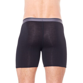Icebreaker Anatomica Long Boxer Men Black/Monsoon